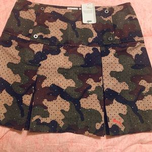 Puma camo mini skirt